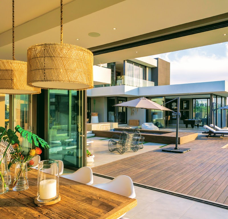 Outdoor composite decking prices in south Africa are very comparable with wooden decking