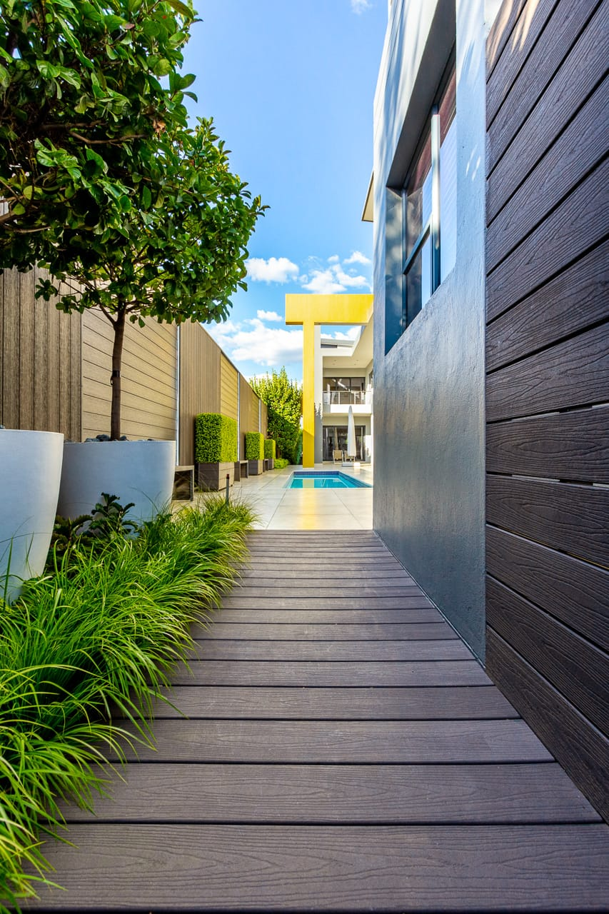 wall cladding and composite decking for eco decking