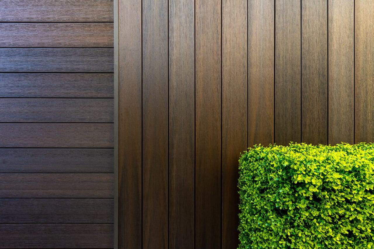 wall cladding and eco composite decking